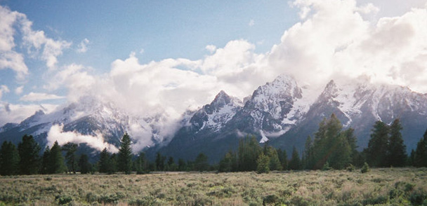 Clouds of Teton